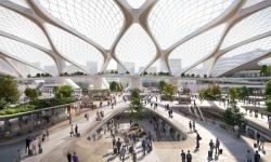 UNStudio představilo plán evropských nádraží budoucnosti