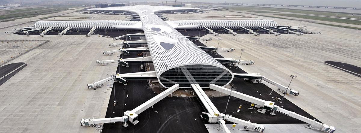Nejkrásnější stavby světa - letiště Shenzhen