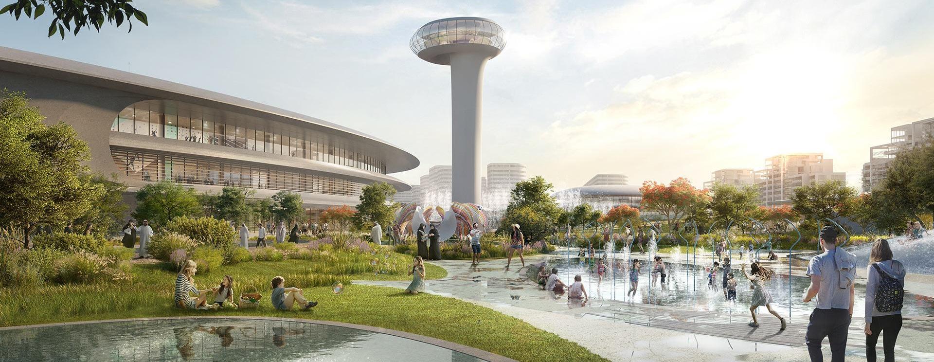 Ve Spojených arabských emirátech bude vybudováno odpočinkové centrum podle návrhu Zahy Hadid