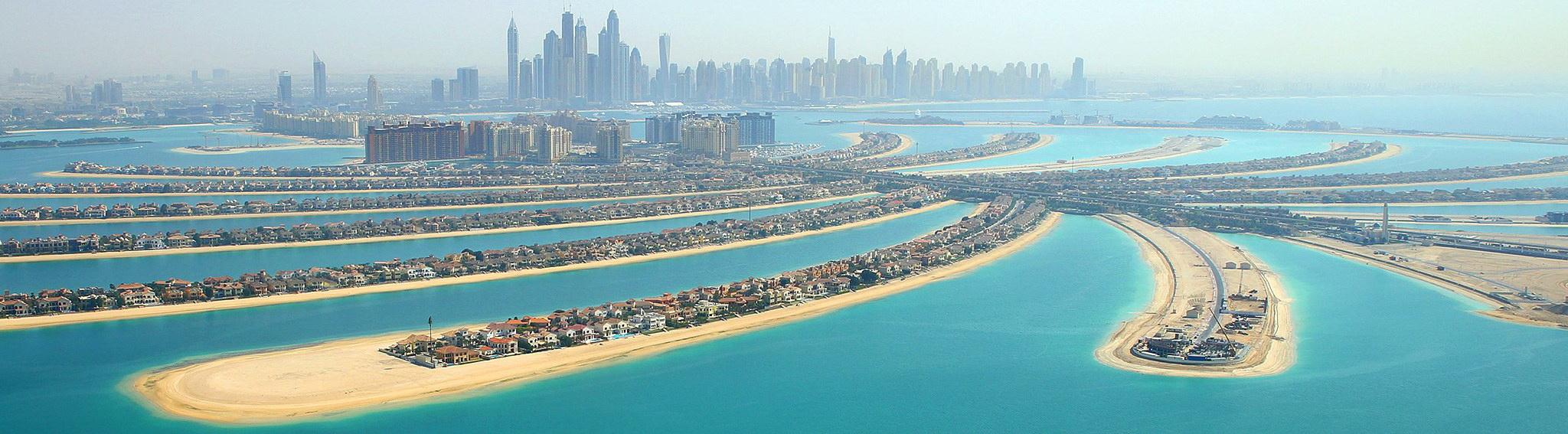 Palm Island, Dubaj - úžasné stavební projekty světa