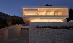 Luxusní Oslo House ve Španělsku nabízí krásný výhled na město Alicante