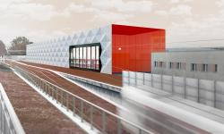 Brno staví velkou moderní halu, která bude sloužit k údržbě tramvají