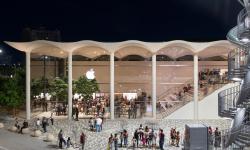 Speciální obchod Apple byl postaven v Miami
