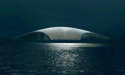 V Norsku se staví vyhlídka, která bude sloužit k pozorování velryb
