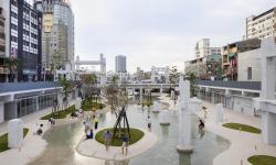 Tchaj-wan vykouzlil ze zříceniny obchodního centra tajuplnou oázu klidu