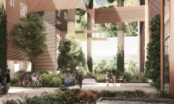 V Praze Na Cihlářce se vybuduje působivá zelená rezidence