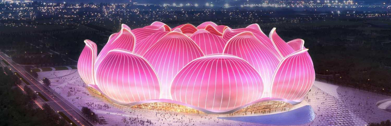 V Číně bude postaven největší fotbalový stadion světa