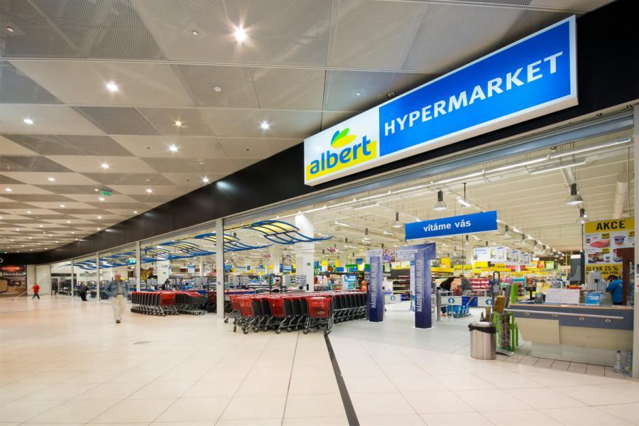 OC Šestka otevře vpolovině září modernizovanou prodejnu Albert