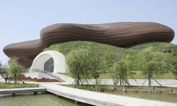 Čína postavila muzeum, které je ukryté v zemi