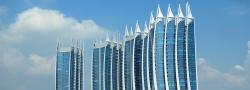 Regatta Hotel Complex, Jakarta - úžasné stavební projekty světa