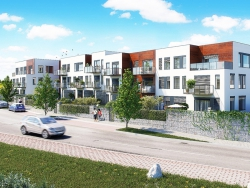 Lipenecký park - nové moderní bydlení na okraji Prahy 5