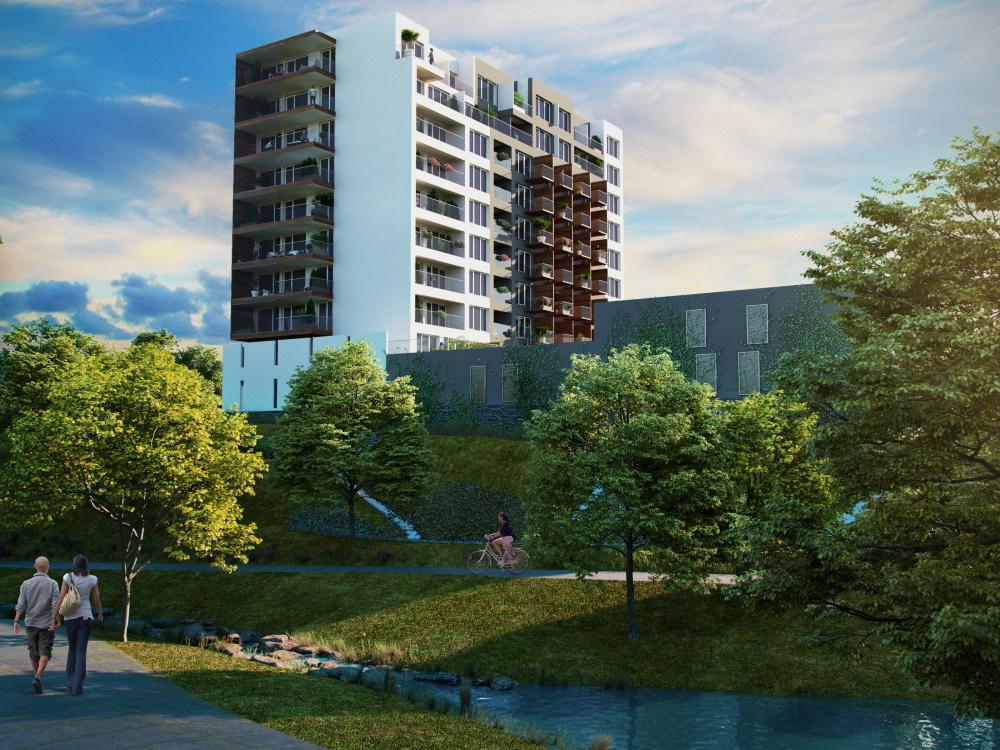 Na pražském Spořilově vyroste nový úsporný bytový dům