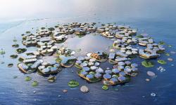 Oceanix City: První město plovoucí na vodě