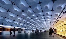 V Oslu budou návštěvníky vítat dvě nové stanice metra, které postaví ateliér Zahy Hadid