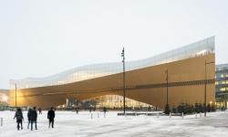 Velká veřejná knihovna dostala tvar lodi. Najdeme ji v hlavním městě Finska
