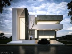 Moderní domácí vzory pro úžasné současné návrhy domů