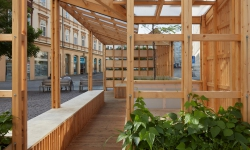 V Brně postavený pavilon se pokusí pomoct v boji s klimatickými změnami