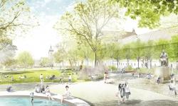 Karlovo náměstí se postupně dočká úprav, které navrhl německý ateliér