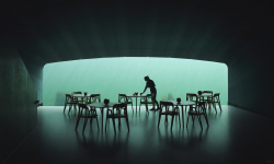 Norsko postavilo vůbec první restauraci pod vodou