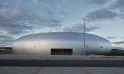 Nová nadčasová sportovní hala je k vidění v Dolních Březanech