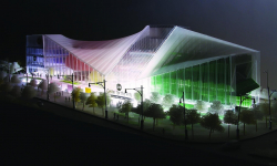 Nové centrum umění v Chicagu zaujme průsvitnou fasádou