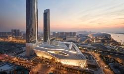 Čínské město Nanking zdobí moderní kulturní centrum pro mládež